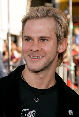 Dominic Monaghan at the premiere of &quot;Batman Begins.&quot;
